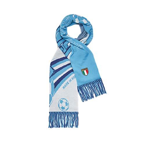 Gcds X Schal, SSC Napoli Mix Stadion Scarf Unisex - Erwachsene, White, One Size