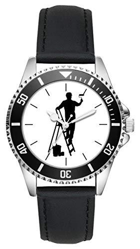 Geschenk für Maler Lackierer Uhr L-6144
