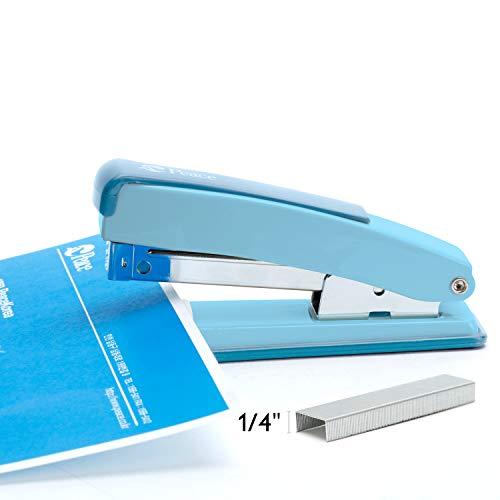 Peace Stapler with 2000 Staples, 2 Pack, Desk Metal Stapler, 25 Sheet Capacity, Standard Commercial Stapler, 100% Made in Korea, Blue Stapler Photo #6