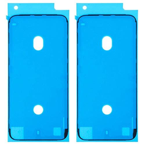 For iPhone 7 防水テープ パネル交換修理用 液晶パネル交換 ステッカー 防水 フレーム接着剤 スクリーン LCD 接着 フロントパネル用シーラントグルー 2枚(黒)