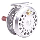TICA S107R/S Fishmaster S. Silver Series Fly Reels 1 Gear Ratio