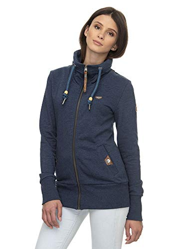Ragwear Rylie Zip Damen Sweatjacke Denim Blue Größe L