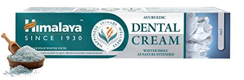 Himalaya Ayurvedic Dental Cream with Salt, No Fluoride 100g
