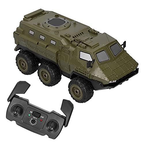 Demeras 1/16 RC Truck 2.4GHz RC Camión blindado 6WD Vehículo blindado RC Car High Speed Off-Road RC Car para niños