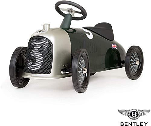 Baghera Rutschauto Heritage Bentley | Rutschfahrzeug XL Heritage Bentley für Kinder mit zahlreichen lebensechten Details | Retro Rutschwagen für Kinder ab 2 Jahren