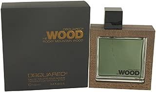 Dsquared2 He Wood Rocky Mountain Eau De Toilette for men 3.4 oz