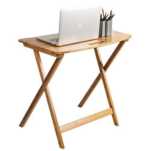 Grote grootte Lap Bureau Opvouwbare Koffietafel, Laptop/TV/Bed Lade 100% Bamboe Verstelbare Ontbijt dienblad Gaming Schrijven Ondersteuning Tot Laptop