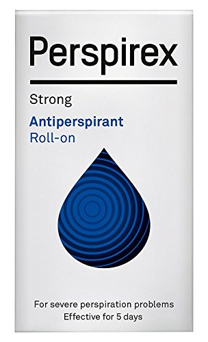Perspirex Extra Strength Antiperspirant Roll on 20ml   Long Lasting Sweat Protection   STRONG