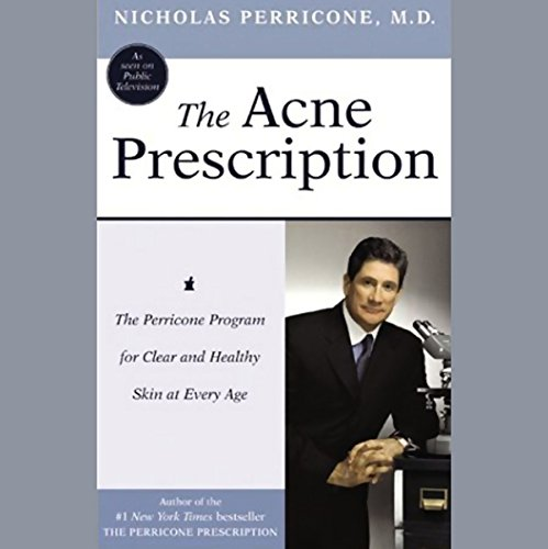 The Acne Prescription audiobook cover art