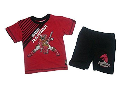 Power Rangers - Pijama dos piezas - para niño multicolor