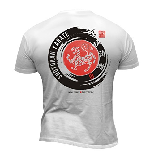 Dirty Ray Kampfsport Shotokan Karate Herren Kurzarm T-Shirt DT41 (M)