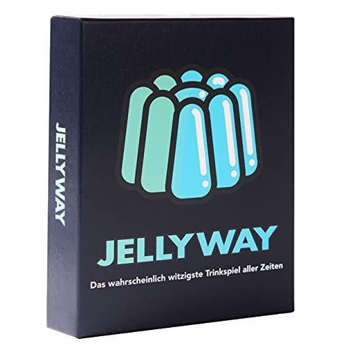 Jellyway® - das wahrscheinlich witzigste Trinkspiel Aller Zeiten | Witziges Spiel - Kartenspiel - Spieleabend - Trinkspiel - Partyartikel - Scherzartikel - Saufspiel - Partyspiel