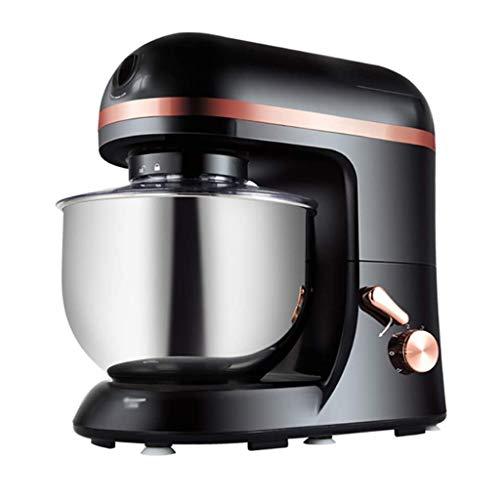 SHUUY Stand Mixer,Tilt-Head Food Mixer, Kitchen Electric Mixer with Dough Hook Dough Mixer, Black