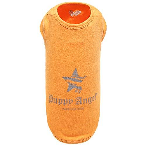 Puppy Angel Everyday T-Shirt pour Chien Orange Taille L