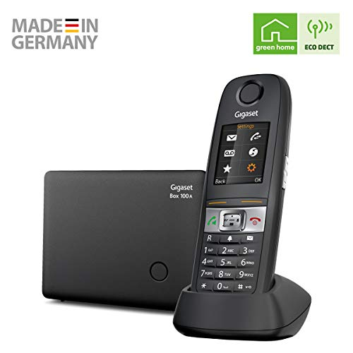 Gigaset E630A - Robust Cordless Phone with Answer Machine -...