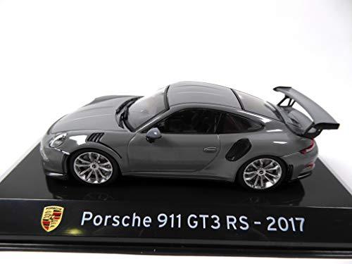 OPO 10 - Auto 1/43 Collection Supercars Kompatibel mit Porsche 911 GT3 RS 2017 (S28)