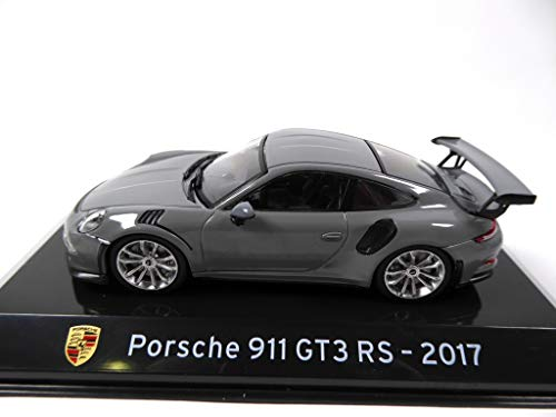 OPO 10 - Voiture 1/43 Collection Supercars Compatible avec Porsche 911 GT3 RS 2017 (S28)