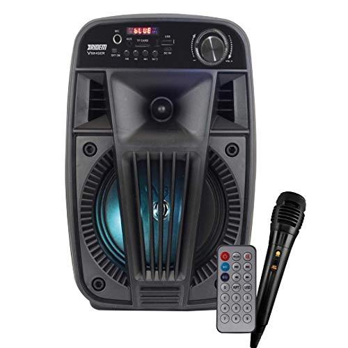 Ridem V Singer Diffusore Amplificato a Batteria 100W Portatile Bluetooth Karaoke