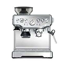 "Breville the Barista Express Espresso Machine, BES870XL. <a href=""https://www.amazon.com/gp/product/B00CH9QWOU/ref=as_li_qf_asin_il_tl?ie=UTF8&amp;tag=ris15-20&amp;creative=9325&amp;linkCode=as2&amp;creativeASIN=B00CH9QWOU&amp;linkId=78d8dd14ac7b30fdfb0c56cce6163a89"" target=""_blank"" rel=""nofollow noopener noreferrer""><span style=""text-decoration: underline; color: #0000ff;""><strong>Buy it on Amazon.</strong></span></a>"