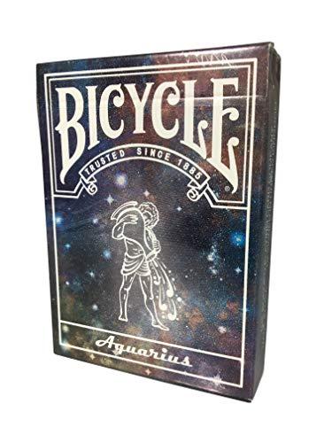 Bicycle Sternbild Karten - Wassermann | Constellation Series Aquarius Edition | Limited Edition Playing Cards plus 3 Look and Feel-Karten | Für alle Esoteriker oder als besonderes Geschenk für Sammler