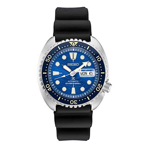 Seiko SRPE07 Men's Watch Black 45mm Stainless Steel