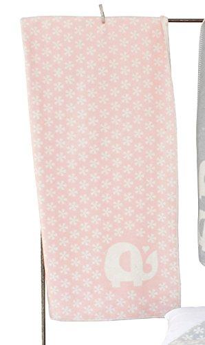 Fussenegger Bio-Kinderdecke gekettelt Baumwolle rosa Größe 100x150 cm