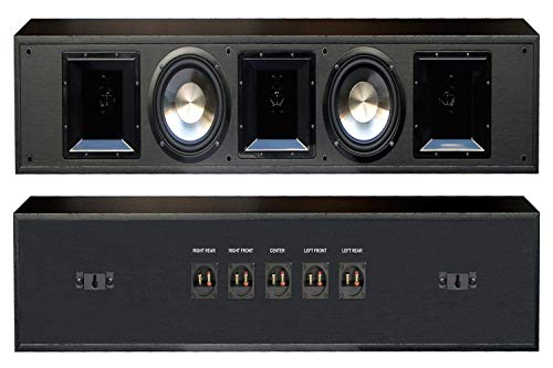 BIC America Patented 625-Watt FH56-BAR Sound Bar with 3-5 Discrete Channels and Flush Wall Mounts