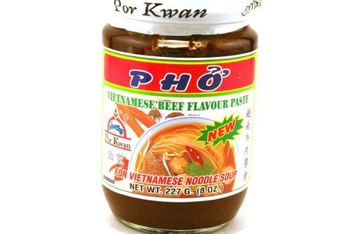 Por Kwan Suppenpaste für Vietnamesische Reisnudelsuppe Pho Bo mit Rindgeschmack 227g