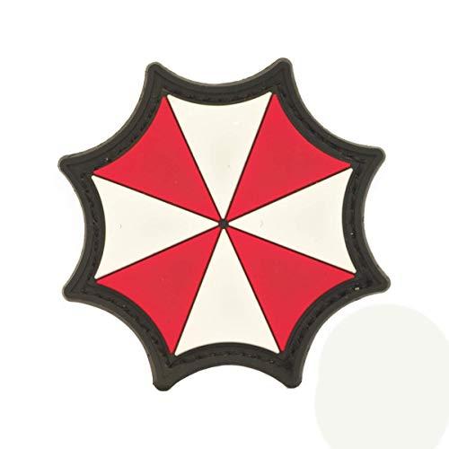 Cobra Tactical Solutions Umbrella Corporation Logo Resident Evil Film PVC Patch mit Klettverschluss für Airsoft Cosplay Paintball für Taktische Kleidung Rucksack