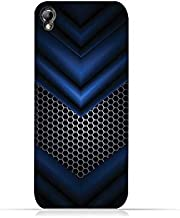 Infinix Zero 2 X509 TPU Silicone Protective Case with Blue Mesh Pattern