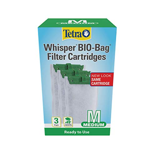 Tetra Whisper Bio-Bag Disposable Filter Cartridges 3 Count, For aquariums, Medium (26169)