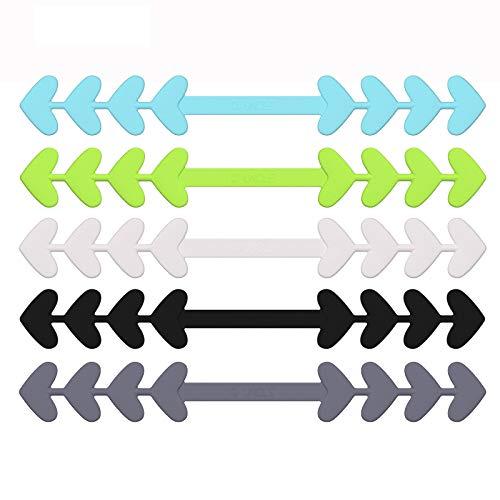 6 Stück Ear Strap Extender Verlängerung Ohrriemen Verstellbare Anti-Ohrenschmerzen und Rutsch Silikon Haken Schnalle für Mundschutz (Farbe 3)