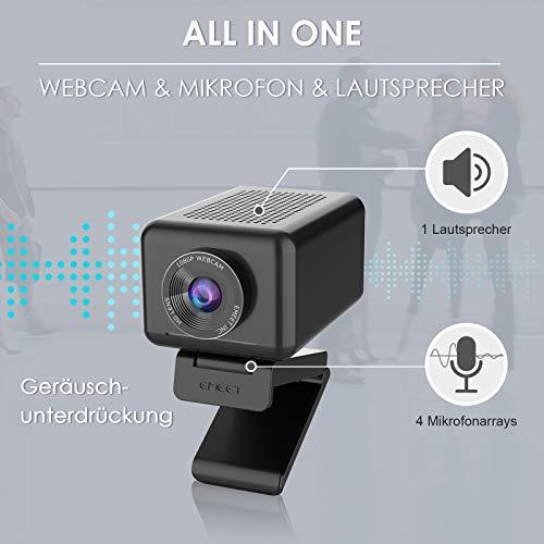 eMeet Jupiter 1.22 - 1080p Webcam Lautsprecher & Mikrofon