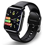 Smartwatch, Fitnessuhr Fitness Tracker 1.4 Voller Touch Screen Smart Watch IP68...