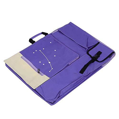 Tragbarer Maler-Skizzenblock Aufbewahrungstasche Multifunktionale Malertasche mit wasserdichtem Material Art Supply