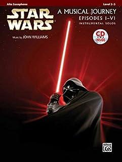 Star Wars Instrumental Solos (Movies I-VI): Alto Sax, Book & CD (Pop Instrumental Solos Series)