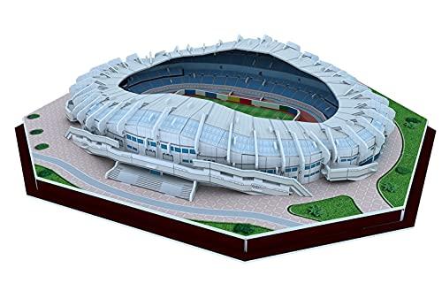 YXST 3D Puzzle FußBallstadion,Modell Der Weltarchitektur,DIY-Puzzle-Modellbausatz mit 166 Teilen,Geschenk füR Kinder Und Erwachsene,FußBallfan-Souvenirs