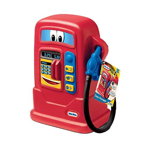 Little Tikes Cozy Pumper - Interactive Playset With Sound - Ideal for the Cozy Coupe, Cozy Truck, Cozy Cab, Princess Coupe (all available separately)
