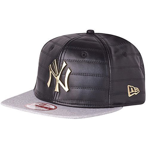 New Era 9Fifty Snapback Cap - QUILTED NY Yankees noir