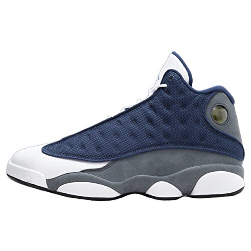 Jordan Men's 13 Retro Flint Navy/Flint Grey-White/Unv Blue (414571 404) - 8