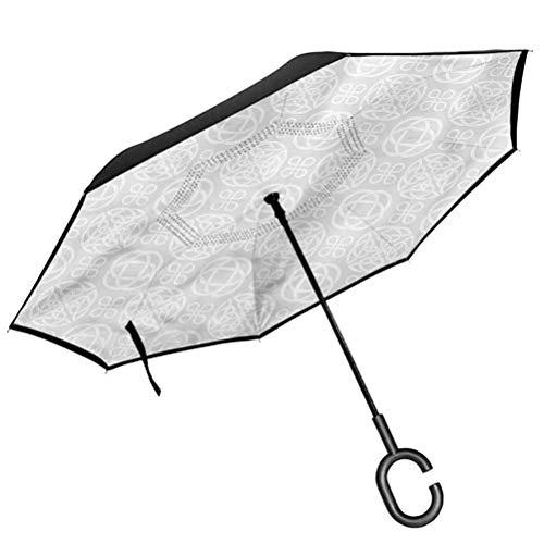ScottDecor Celtic Umbrella Tribal Knots Boho Irish Kids Children's rain Umbrella Girl Child's Tools