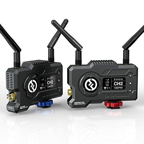 Hollyland Mars 400S PRO [Offiziell] 1080P Wireless SDI/HDMI Video Übertragung System,Sender & Empfänger,400ft Reichweite,0.1S Niedrige Latenz,12Mbps Live-Stream Rate,4 APP Überwachung,3 Szenenmodi