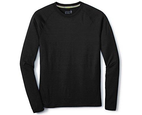 Smartwool Men's Base Layer Top - Merino 150 Wool Active Long Sleeve Black