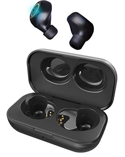 Bluetooth Kopfhörer kompatibel Wireless Charger, ENCORE Fly Touch europäische Marke, Touch-gesteuerter in Ear Kopfhörer kabellos, 24 Std Spielzeit, Mikrofon