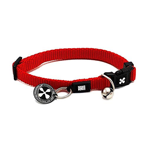 Max & Molly Urban Pets Smart ID Cat Collar - Pure Red