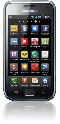 Samsung Galaxy S Plus I9001 Smartphone (10,16 cm (4 Zoll) Display, Touchscreen, 5 Megapixel Kamera, Android Betriebssystem) ceramic weiß