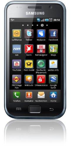 Samsung Galaxy S Plus I9001 Smartphone (10,16 cm (4 Zoll) Display, Touchscreen, 5 Megapixel Kamera, Android Betriebssystem) ceramic weiß