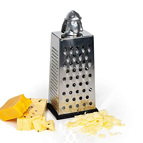 Teenage Mutant Ninja Turtles Shredder Cheese Grater | Official TMNT Handheld Stainless-Steel Kitchen Cheese Slicer