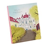 TOMMYFIELD 日記 日記帳 diary book notebook プレゼント a5 デザイン ノート 女の子 (赤)