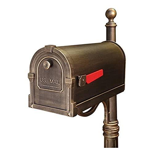 Special Lite Savannah Curbside Mailbox - Hand Rubbed Bronze